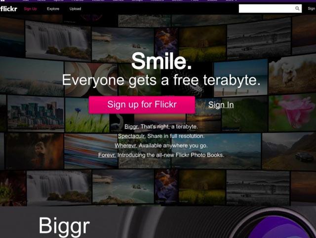 Flickr - Bilderdatenbank für lizenzfreie Bilder für Blog und Webseiten