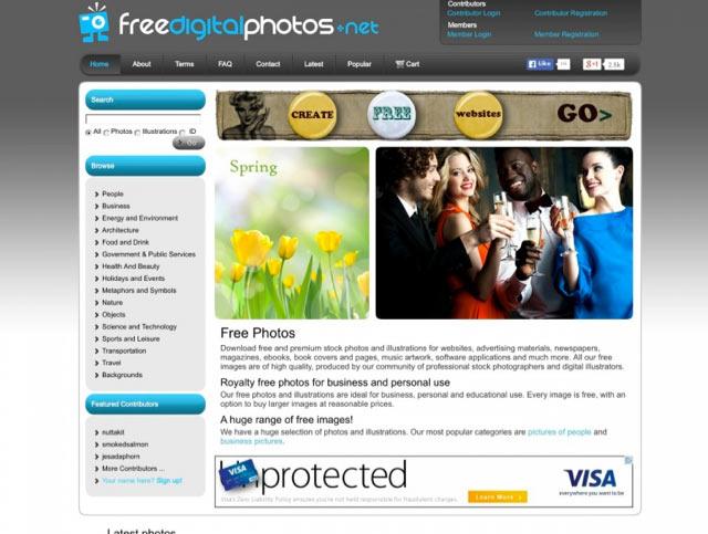 Freedigitalphotos - Bilderdatenbank für lizenzfreie Bilder für Blog und Webseiten