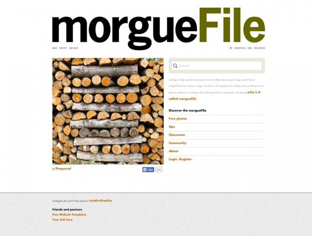 Morguefile - Bilderdatenbank für lizenzfreie Bilder für Blog und Webseiten