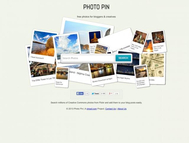 Photopin - Bilderdatenbank für lizenzfreie Bilder für Blog und Webseiten