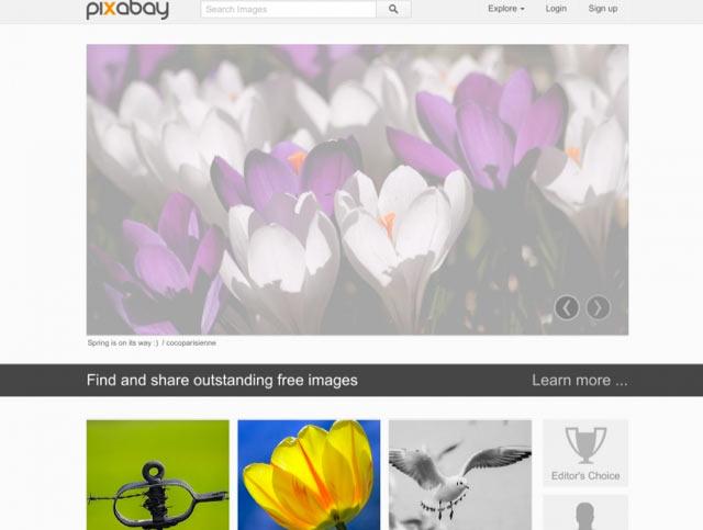 Pixabay - Bilderdatenbank für lizenzfreie Bilder für Blog und Webseiten