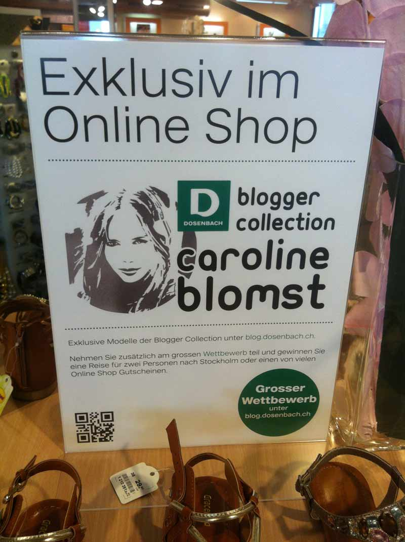 1 Corporate Blog & POS Blog Aktion bei Dosenbach